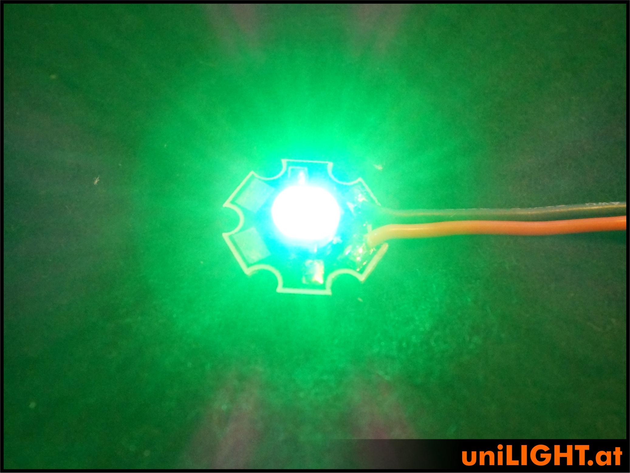4W Punktlicht-Chip GRÜN