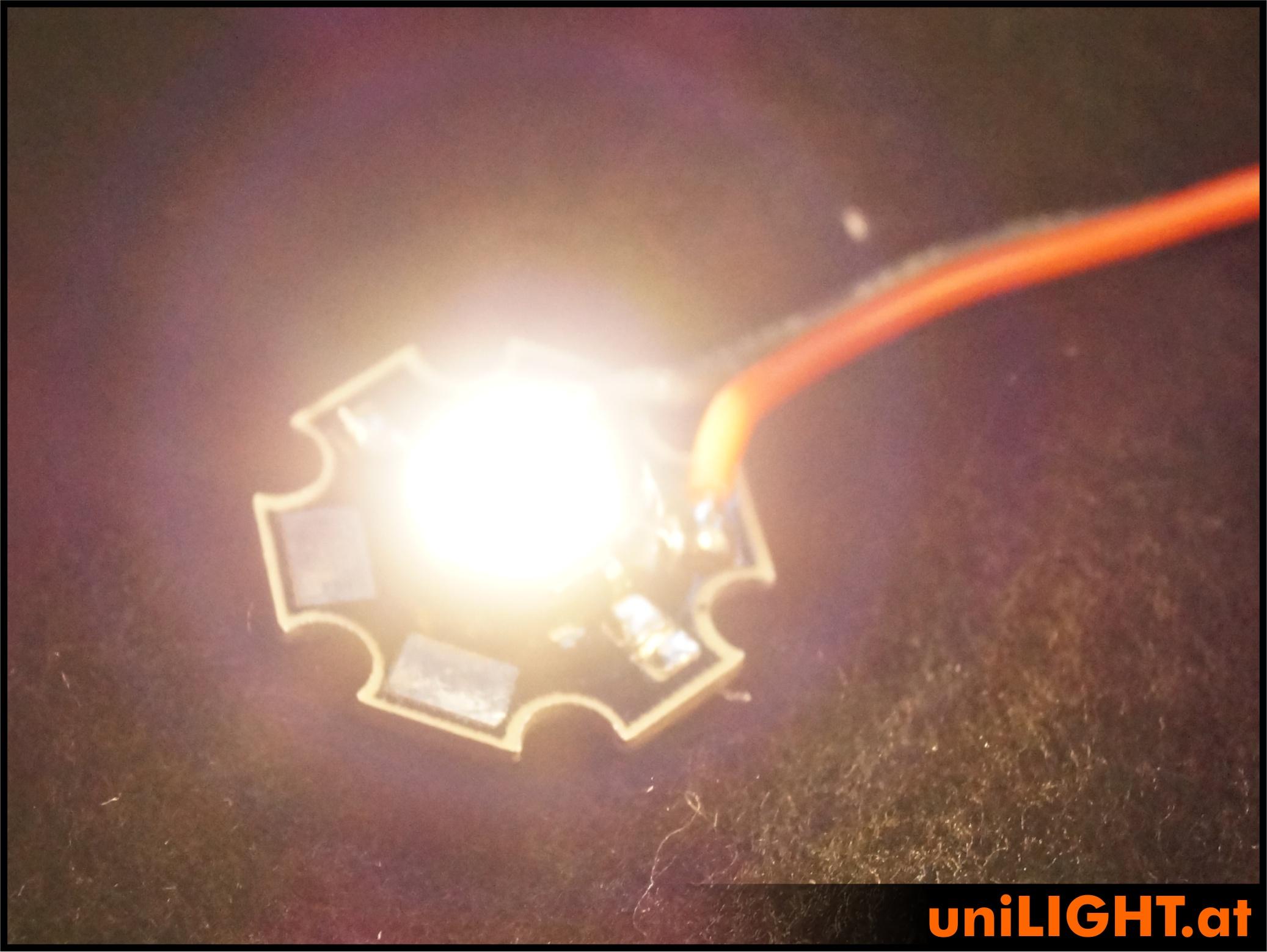 4W Punktlicht-Chip WEISS