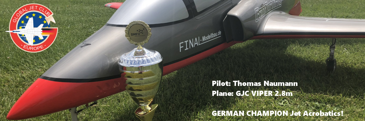 GLOBAL JET CLUB Viper 2.8m GERMAN CHAMPION