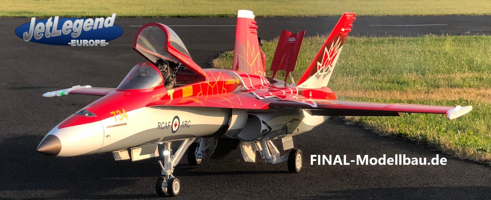 Jetlegend F-18C 1/5.5 PNP Canadian Air Force Display 2017